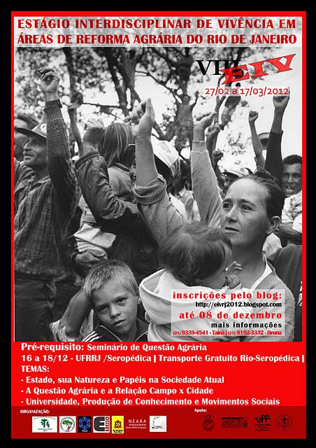 VIII Estágio Interdisciplinar de Vivências do  Rio Janeiro - 2012