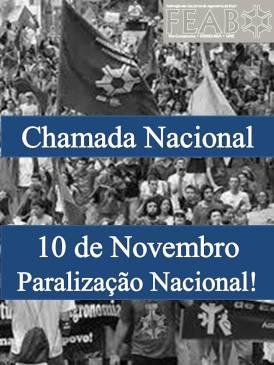 10 de novembro_Paralização_Nacional